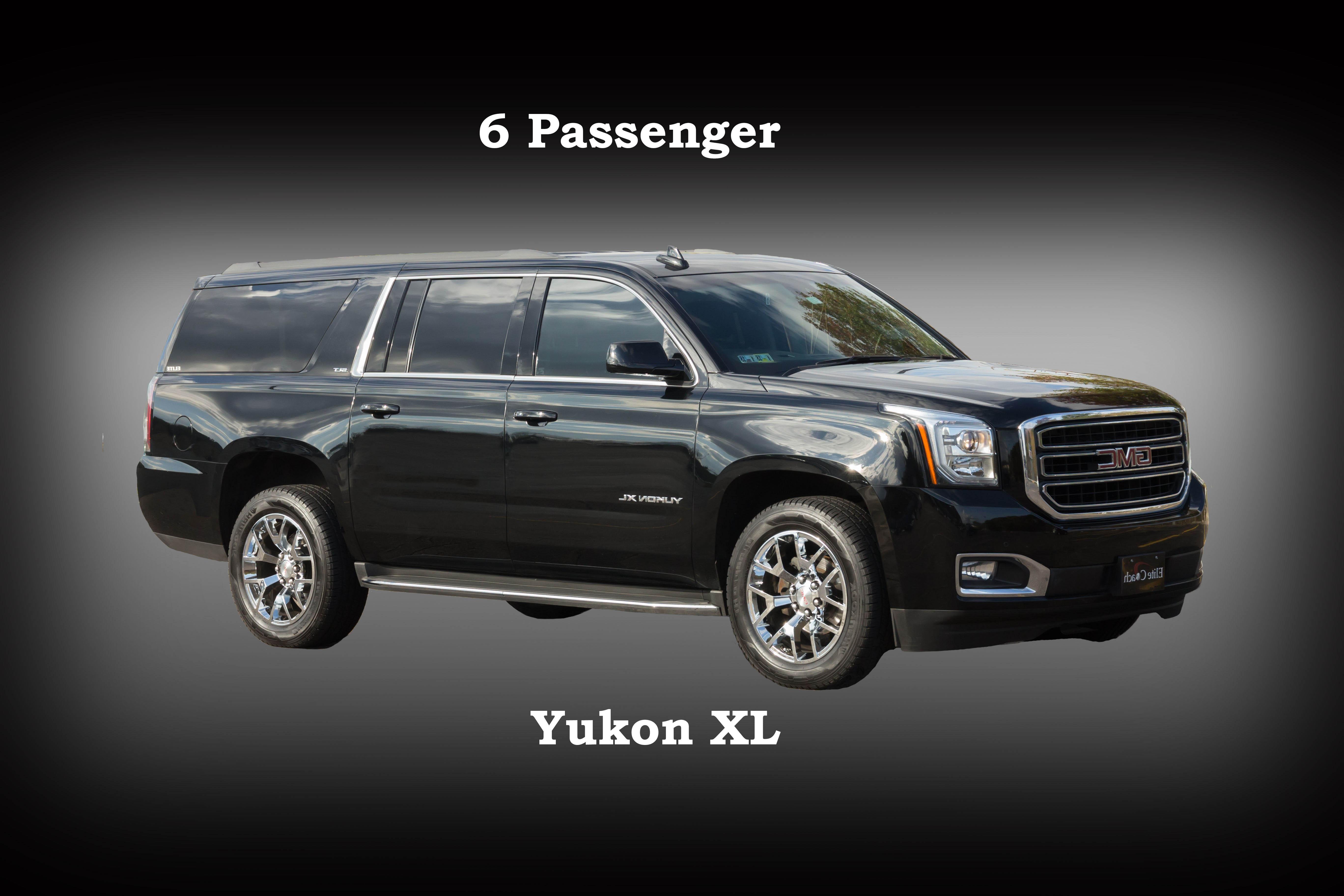 6 Passenger Suv >> Suv 8 6 Passenger Gmc Yukon Elite Transportationelite Transportation
