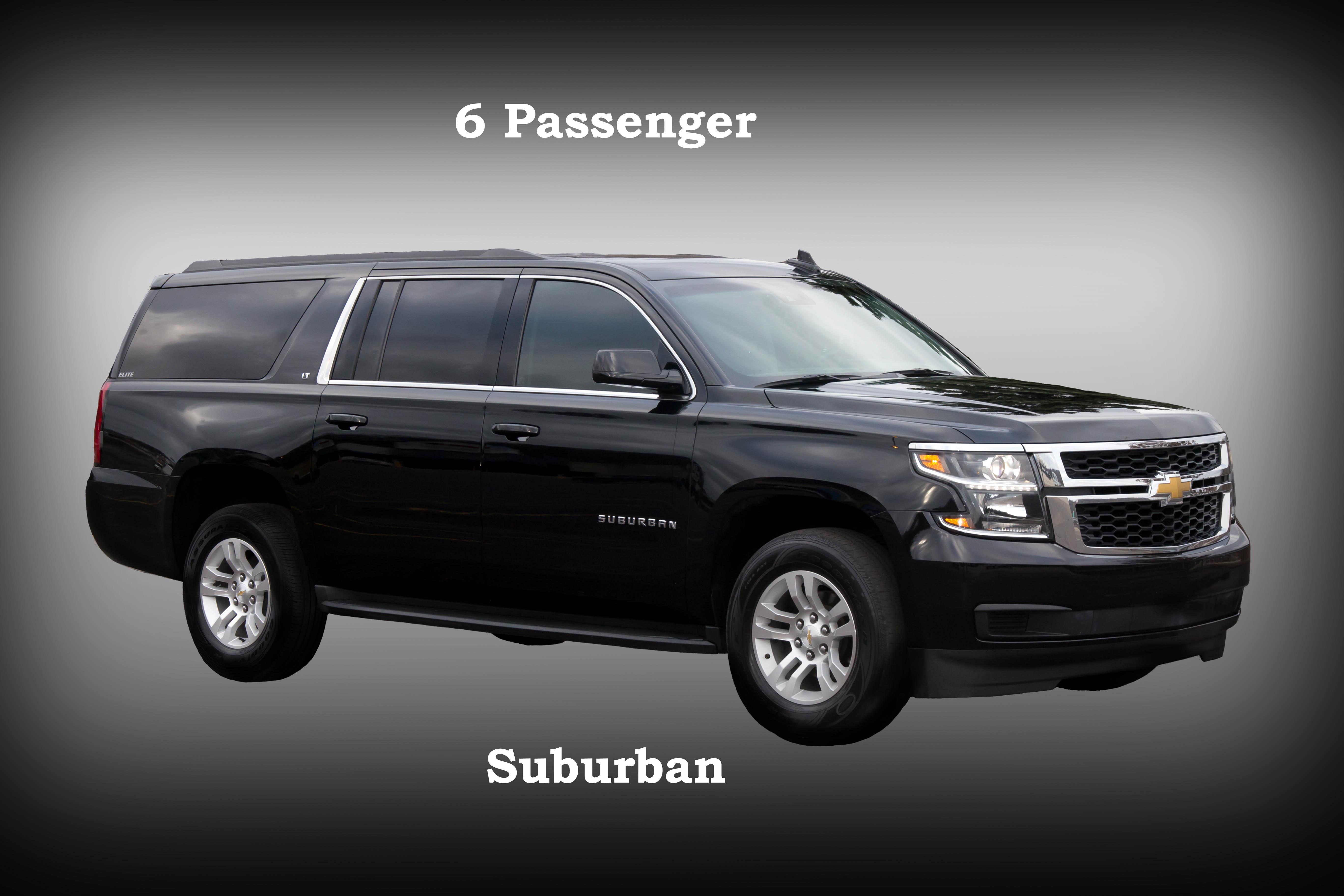 6 Passenger Suv >> Suv 7 2 6 Passenger Suburban Elite Transportationelite
