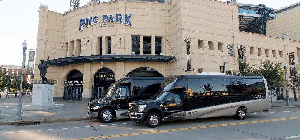 Elite Coach Transportation Pittsburgh Limousine Shuttle Bus